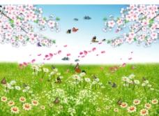 花草缤纷图片