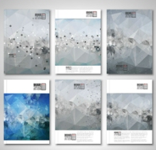 时尚画册封面设计背景矢量素材图片