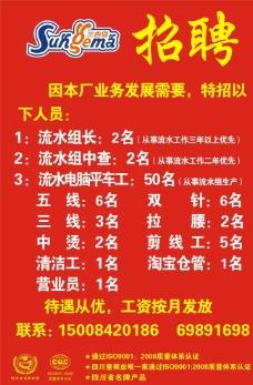 三吉卯招工启事立牌2014图片