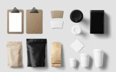 VI模板 品牌形象智能贴图图片