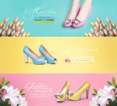 淘宝网店女鞋海报设计图片