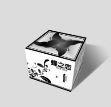 蝶之恋包装设计效果图图片