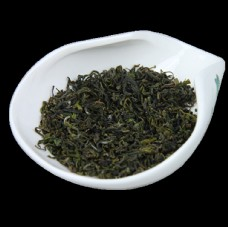 日照绿茶干茶图片