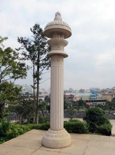 柱子 曲靖 南城门 靖和宫图片