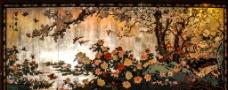 百花齐放墙面装饰图片