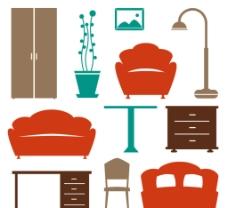 彩色家具 设计图片
