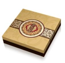 月饼包装盒平面图图片
