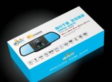 行车记录仪包装设计平面展开图图片