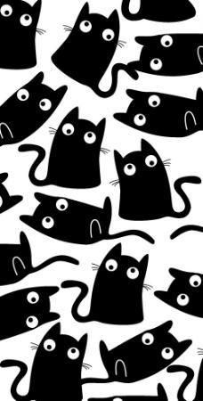 黑色猫图片