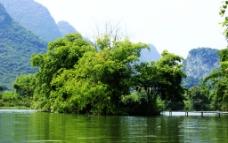 江中绿洲景观图片