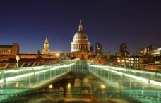 伦敦夜景图片