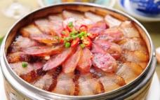 蒸腊肉图片
