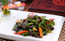 青椒小炒肉图片