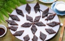 香煎蕨粑饼图片