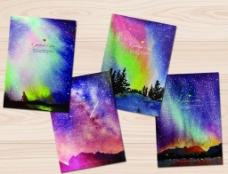 星空本子封面图片