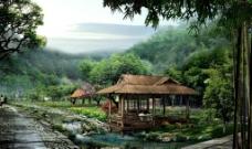 竹海景区图片
