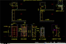 依恋仙居陈龙定制CAD衣柜设计图片