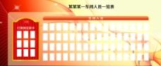 车间生产一览表展板图片