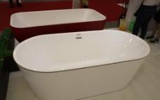 陶瓷浴缸图片