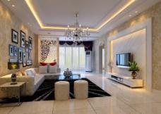 欧式客厅(雪飞传媒设计)图片