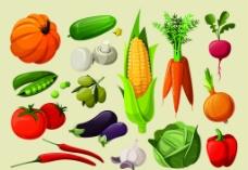 卡通蔬菜图片