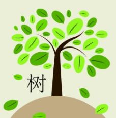 可爱树图片