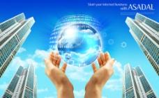 商业数码科技海报图片