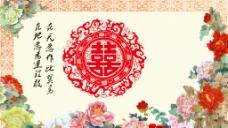 中国红婚礼图片
