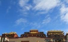 葛丹松赞林寺图片
