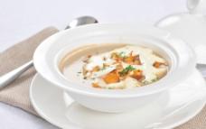 奶油蘑菇汤图片