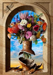 欧式鲜花图片