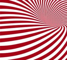 红白条纹漩涡 背景图片