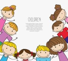 卡通儿童边框图片