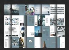 国外企业画册图片