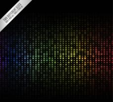 彩色方格 背景图片