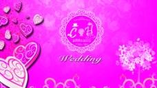主题婚礼喷绘背景图片