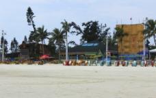 银滩游乐项目图片
