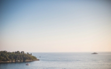 海滩蓝天图片