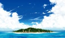 海景素材图片