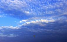 鱼鳞纹云彩图片