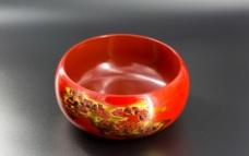 脱胎漆器茶盂图片