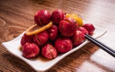 樱桃萝卜酸图片