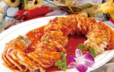 鱼香茄龙图片