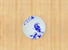 青花瓷碟圖片