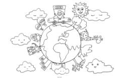 奥迪上色地球篇图片