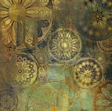 底纹复古残破背景图图片