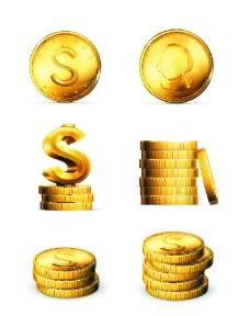 财富金币图片