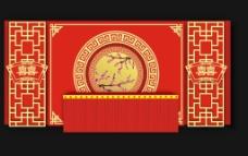 中式主题婚礼图片