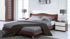 高档床图片