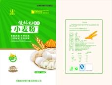小麦面粉包装袋图片